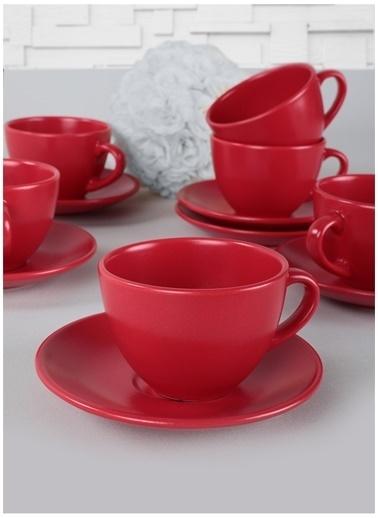 Keramika Fincan Kırmızı